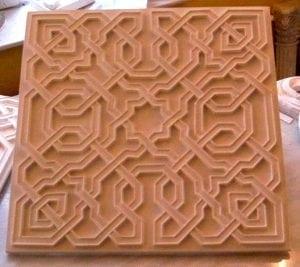 "Tile Nr. 904, Style ""Alhambra"""