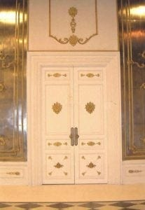 "Doorway in the Style of Versailles ""Mirrored Hall"" by Ossett Mouldings"