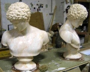 Male Busts by Ossett Mouldings