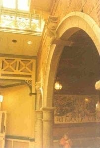 Archway, with Corbel and Columns by Ossett Mouldings