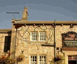 Detailed Plans of the Breakaway Section of The Wolfpack Pub from the Show Emmerdale