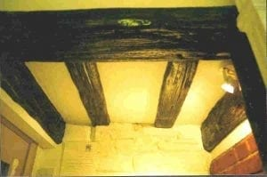 A Replica of Timber Beams by Ossett Mouldings