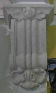 A Corbel Covered in a Stone Effect Pain by Ossett Mouldings