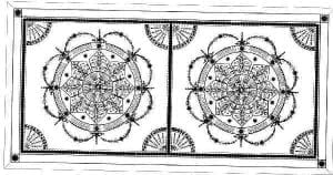 Design of an Ornate Ceiling by Ossett Mouldings