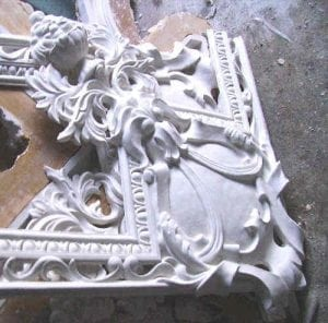 Panel for an Ornate Ceiling by Ossett Mouldings