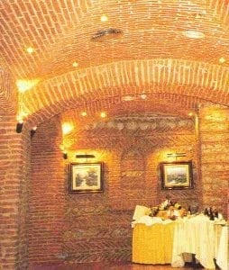 Brickwork Ceiling with Archways by Ossett Mouldings