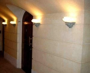 Detailed Light Holders, The Queen's Gallery, Buckingham Palace by Ossett Mouldings