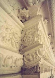 Degenerating Decorative Plaster Work which Ossett Mouldings could Help Reproduce
