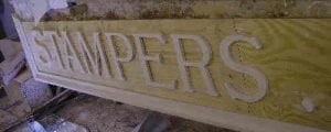 Moulded External Wall Lettering by Ossett Mouldings