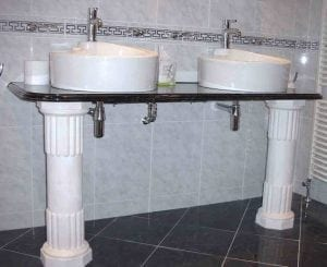 Places of Worship, Sink Column Moulding Design by Ossett Mouldings