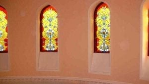 A Mosque Window Surround by Ossett Mouldings