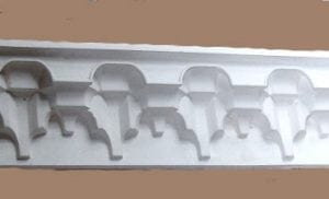 "A Cornice Based on the ""Alhambra"" Style by Ossett Mouldings"