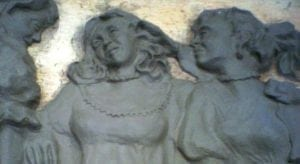 Three Figures Moulded in Clay by Ossett Mouldings