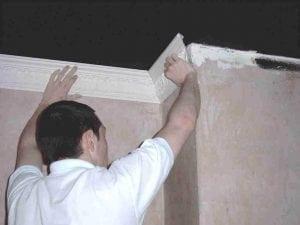 Installing a Cornice