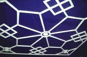 A Finished Bespoke Ceiling by Ossett Mouldings