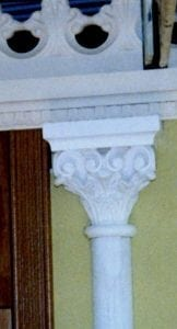 "The Steam Ship ""Great Britain"" Traditional Column Topper Mouldings by Ossett Mouldings"