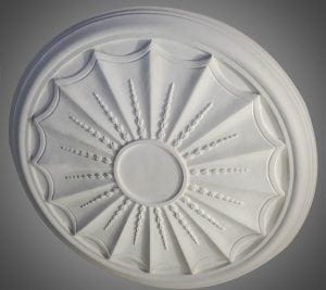 208 Large Adam Ceiling Rose