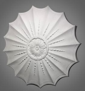 204 Adam Sunflower Ceiling Rose