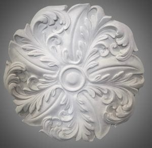 206 Sunflower Ceiling Rose