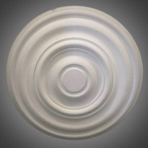 214 Large Plain Cambridge ceiling Rose