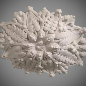 223 Small Victorian Oval Ceiling Rose