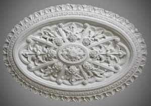 233 Victorian Medium Oval Ceiling Rose