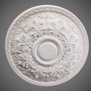 235 Brabantine Leaf Ceiling Rose