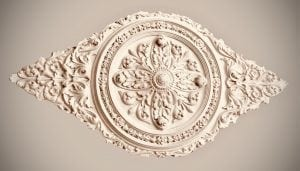 Ceiling Rose 212 Large Victorian Oval