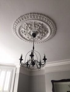 207 Large Victorian Ceiling Rose