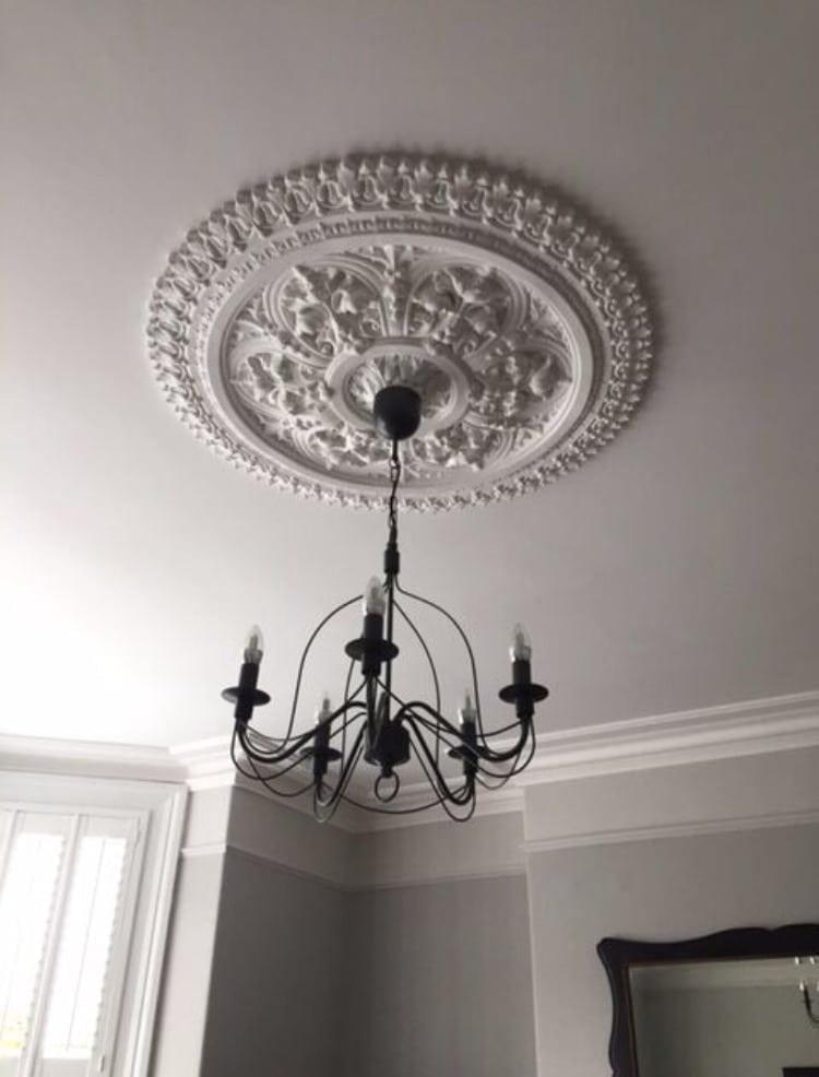Ceiling Rose 207 - Large Victorian - Ossett Mouldings Ltd