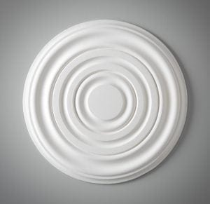 227 Small Plain Cambridge Ceiling Rose