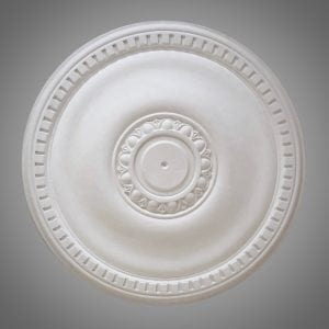 242 Egg & Dart-Dentil Ceiling Rose