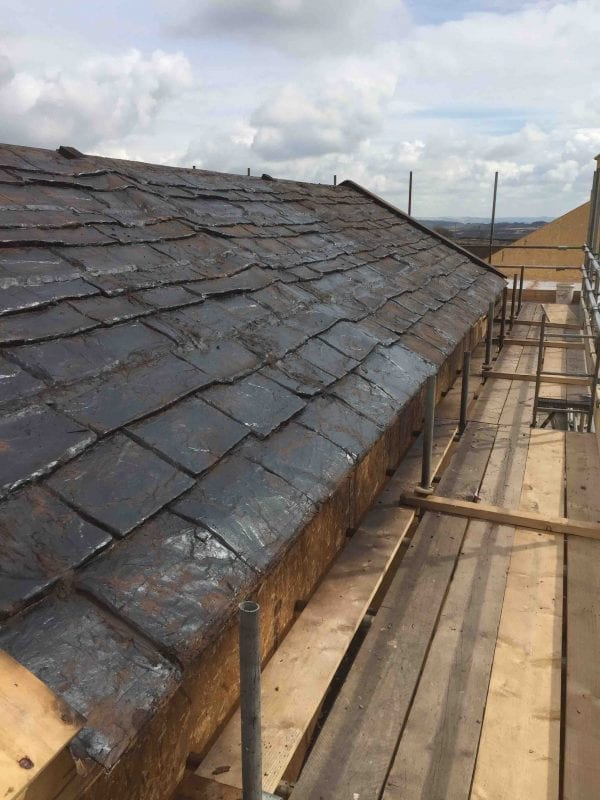 494 Large Slate Roof Tiles